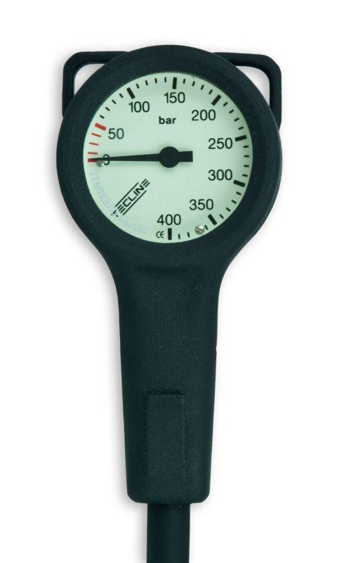 TECLINE Nyomásmérő Slim 400 bar         Műszer