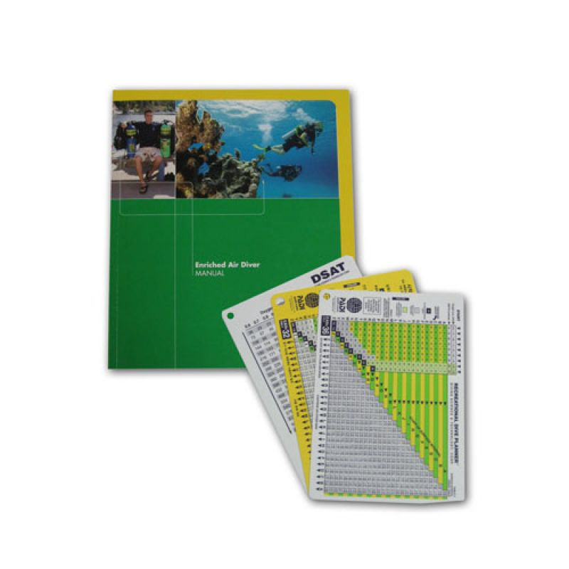 PADI Tankönyv NITROX Búvárkönyv
