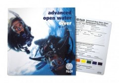 PADI Tankönyv ADVANCED OPEN WATER Tankönyv