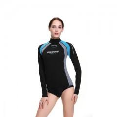 CRESSI Póló Thermo Vest női Long Sleeve Black Póló