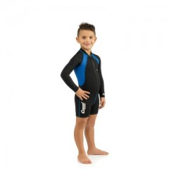 CRESSI Shorty Gyerek Kids Blue Shorty Long Sleeve Gyerek